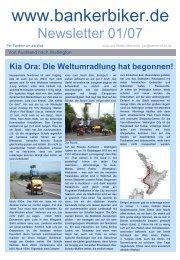 Presentation title in Arial bold 28pt - Vom Banker zum Biker