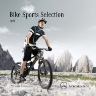 Bike Sports Selection - Mercedes-Benz Accessories GmbH