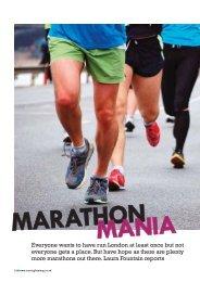 Marathon mania feature - Laura Fountain