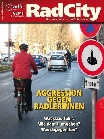 Aggression gegen rAdlerinnen - ADFC Hamburg