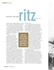 Puttin on the Ritz - Dixon Valve