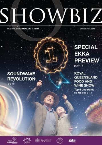 SPECIAL EKKA PREVIEW - the RNA