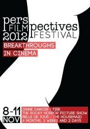 Belle de jour, a perspective - Perspectives Film Festival 2012