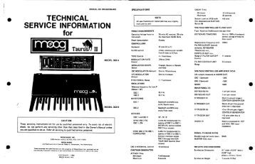 Taurus 2 service manual - CEM3374.com