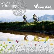 Sommerprospekt 2013 - Ski & Bike Hotel Wiesenegg