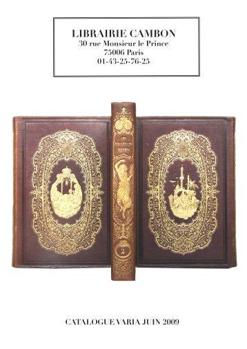 Nous achetons beaux livres, manuscrits et dessins. - Livre Rare Book