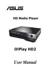 HD Media Player User Manual O!Play HD2 - Asus