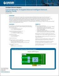 Cavium Networks 10 Gigabit Ethernet Intelligent Network Adapter ...