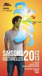 Brochure des Saisons Culturelles 2012-2013 - Le Marsan