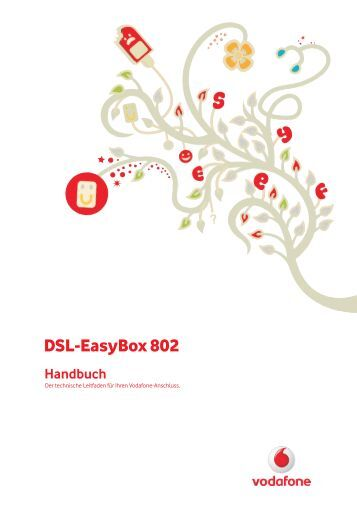kurzanleitung zur vodafone dsl easybox 802. Black Bedroom Furniture Sets. Home Design Ideas