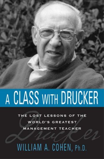 A Class with Drucker - Headway | Work on yourself