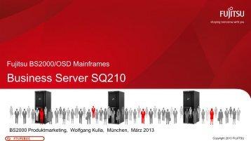Business Server SQ210 - Fujitsu