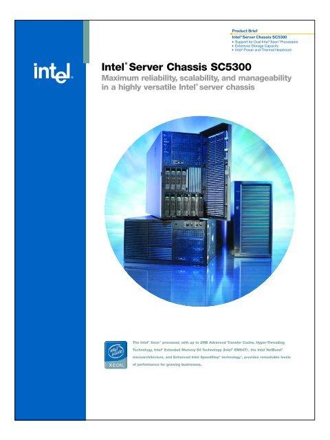 Intel® Server Chassis SC5300 – BRP Configuration