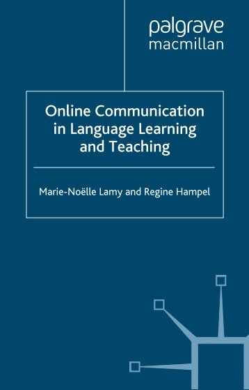 comunication for distance learning Distance education models and best practices two-way technology-based communication is now an essential feature of distance education technologies and.