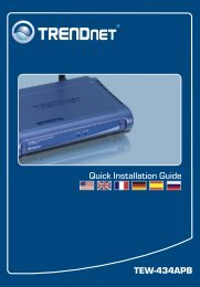 TEW-434APB Quick Installation Guide - TRENDnet