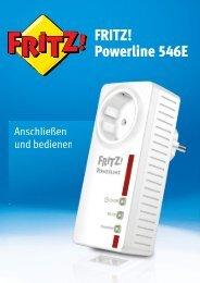 FRITZ! Powerline 546E - AVM