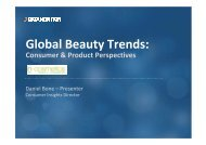 Global Beauty Trends: - in-cosmetics Asia