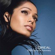 2009 Executive Summary - L'Oréal