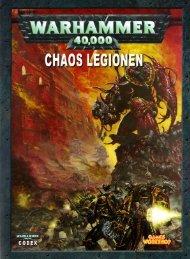 chaos legionen - CODEX Dark Angels