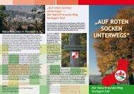 """""""Auf roten Socken unterwegS"""" - NaturFreunde Stuttgart"""