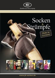 JD Katalog - Strumpf Dirks GmbH