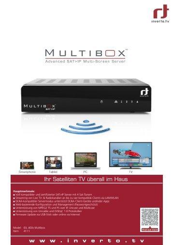 Ihr Satelliten TV überall im Haus - Inverto
