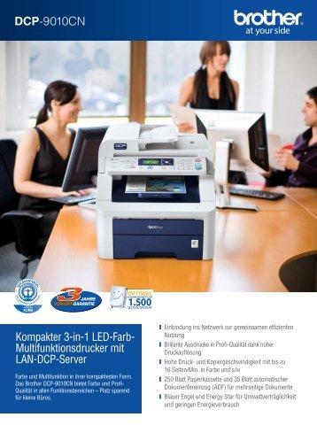 DCP-9010CN - Drucker - Fax
