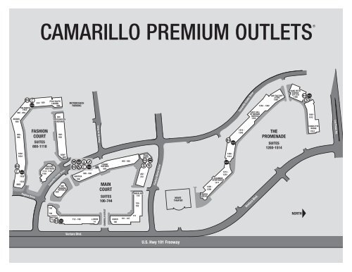 Camarillo premium outlets on