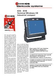 ICS - X10 - ICS Identcode Systeme AG