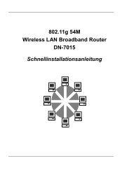 802.11g 54M Wireless LAN Broadband Router DN-7015 ...