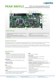 PEAK 886VL2 - Spectra Computersysteme GmbH