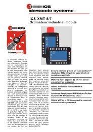 ICS-XMT 5/7 Ordinateur mobile - ICS Identcode Systeme AG