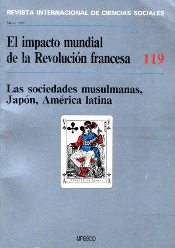El Impacto mundial de la Revolución francesa ... - unesdoc - Unesco