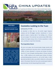 HPA China Updates Cosmetic Issue 4 2011-10 - US-China Health ...