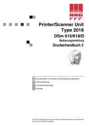 Aficio 2015/2018/2018D Bedienungsanleitung Druckerhandbuch 2