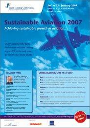 Sustainable aviation 2007