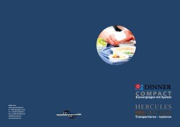 Katalog Dinner Compact und Hercules - MaWe-Pack