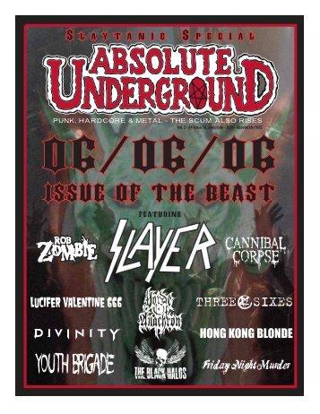 Download PDF - Absolute Underground Magazine