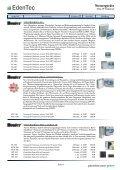 Steuergerät - edentec.ch - Page 6