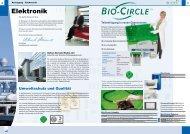 Elektronik-Flyer - Bio-Circle
