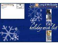 holiday wish list - Long & McQuade