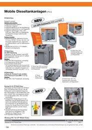 Mobile Dieseltankanlagen [PG 4] - CEMO