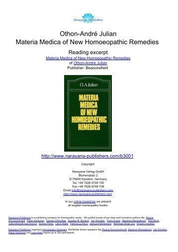 Concordant Materia Medica