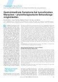 Gastrointestinale Symptome bei tumorkranken Menschen ... - Seite 2