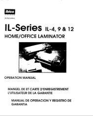 IL-Series IL-4, 9 & 12