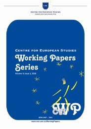 Volume II, Issue 1, 2010 - CSE
