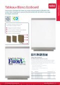 FREMA - CATALOGUE NOBO Whiteboards / Tableaux blancs Http ... - Page 5