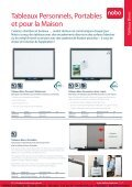 FREMA - CATALOGUE NOBO Whiteboards / Tableaux blancs Http ... - Page 7