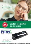 FREMA - CATALOGUE Sortiment Plastifier/Laminer Http://ibico.ch - Page 2