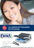 FREMA - CATALOGUE Sortiment de Relier/Reliures Http://ibico.ch - Page 2